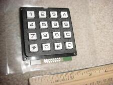 Keypad, 16 Keys, Matrix Output, Tactile Touch