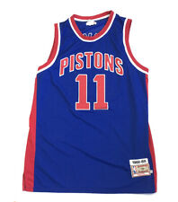 Isaiah thomas Mitchell & Ness 1988-89 Detroit Pistons Jersey Stitched Men's 3XL