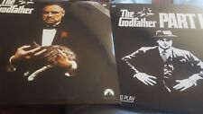 The Godfather Part 1 and 2 Laserdiscs like new