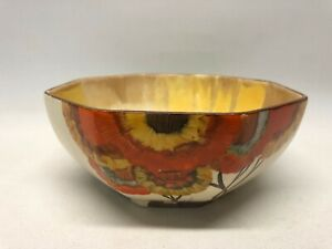 Clarice Cliff Bizarre Rhodanthe bowl C1934