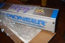 PIONEER VINTAGE LIGHT SIGN - BRAND NEW - 43X10X12CM