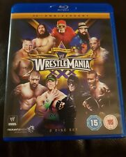 WWE Wrestlemania xxx 30 Blu Ray Disc Wrestling