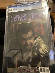 Klingon Language STAR TREK KLINGONS Blood Will Tell #1 RI Photo Cvr (IDW, 2007)!