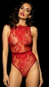 Honey Birdette 🌹Maria🌹 Red Size Small New RRP £125.00