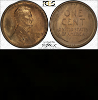 1909-S VDB PCGS MS64 RB ☗Handpicked☗Non-Doctored ✭Superkey Lincoln Wheat Cent 1c