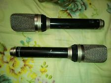 pair of Neumann Gefell UM70 RFT mv692 mic with cardioid omni fig8 caps
