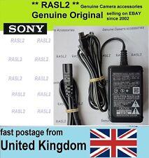 Original Sony AC-L200 Cargador HDR-SR8 SR1 TD10 VG20 CX130 CX160 CX305 CX155 E
