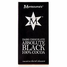 Montezuma's Absolute Noir 100% cacao 100 g x12