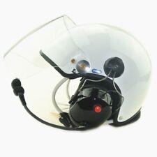 Classic fiber glass high Noise cancel Paramotor helmet PPG helmet color White