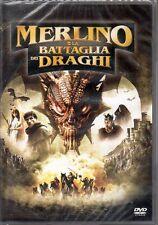 MERLINO E LA BATTAGLIA DEI DRAGHI - DVD (NUOVO SIGILLATO)