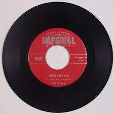 FATS DOMINO: What Will I Tell my Heart / When I See You IMPERIAL Orig 45 VG+ MP3