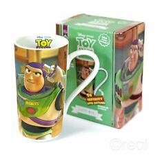 New Toy Story Buzz Lightyear Infinity & Beyond Latte Mug Coffee Disney Official