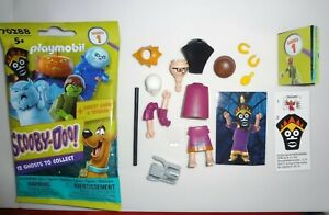 Playmobil Scooby Doo Blind Bags Ghost Sticker And Figure Witch Doctor