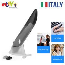 2.4G Wireless Mouse Ottica Con Penna DPI Regolabile Grigio Per Presentatore K0G0