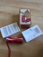 Boxed Vintage Coca-cola camera 110, original Xmas Packaging, instructions Unused