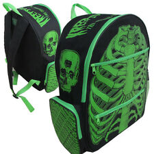 Kreepsville 666 Green and Black Ribcage Backpack