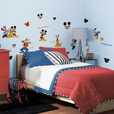 Roommates Disney's Mickey Clubhouse Wall Stickers, Kids Mickey Mouse Wall Decals