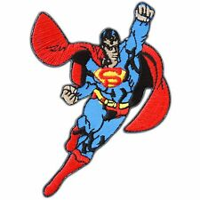 Superman Superhero Flying Cartoon Classic Kids Children Iron-On Patches #CM002