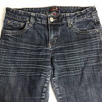 Underground Soul Womens Juniors Stone wash Denim Blue Jeans Size 11 Stretch