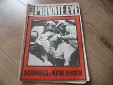 June Private Eye History & Politics Magazines