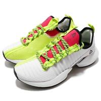 Reebok Sole Fury White Black Lime Red Women Running Fashion Shoes Sneaker DV4490