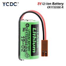 Batería 3V CR17335SE-R PLC CR2/3A CNC sistema 1800mAh Li-Ion baterías de backup