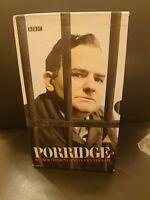 PORRIDGE: 4 x VHS BUNDLE - COMPLETE SERIES 1, 2, 3 & CHRISTMAS SPECIALS - VHS