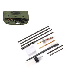 US 10PCS .22 22LR .223 556 Tactical Hunting Cleaning Kit Cleaning Rod Brush Tool