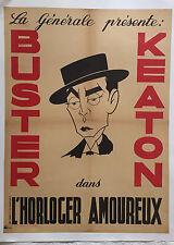 "BUSTER KEATON ""L'HORLOGER AMOUREUX"""