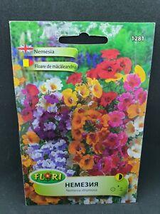 Nemesia Strumosa Mix Colours Flower 510 seeds