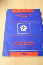 1993 Chrysler Jeep Ladesystem und Tempomat Antriebsstrang Systemdiagnose