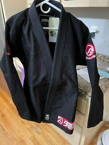 Shoyoroll Competitor Kimono Black/Red Logo A3