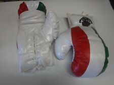 Pair Of Boxing Gloves Rex Red White & Green Mexico 14 Oz Unused 091317jh2