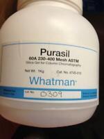 GE Whatman 4745-010 Purasil 60A Silica Gel Media for Flash Chromatography, 230