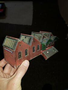 OO Gauge Card made ready built factory building Lambert Ltd