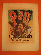 J. CHERET Lithographie Journal PAN Maitres de l'Affiche Lithography Litografia