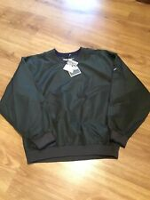 Cutter & Buck Clima Guard Golf Pullover Jacket lined Men's Size Large Green Nwt
