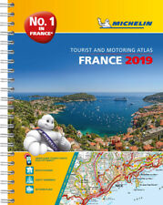 Michelin France Road Atlas A4 Spiral 2019
