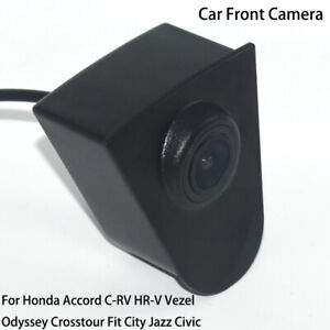 Car Front View Parking HD Camera for Honda Accord C-RV Vezel Fit City Jazz Civic