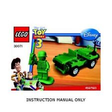 (Instructions) for LEGO 30071 - Toy Story - Army Jeep polybag - MANUAL ONLY