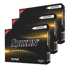 New Srixon Z Star 7 Golf Balls White - 3 Dozen - 2021