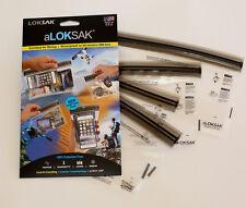 4 Aloksak 3.75x7 4.5x7 6x9 8x11 Double Zipper Waterproof Airtight Bags LOKSAK