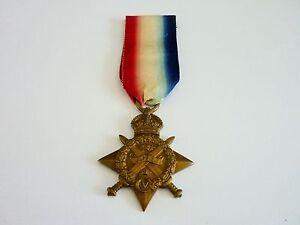 WW1 14 Star 8936 Pte. F.C. Jackson R.A.M.C.