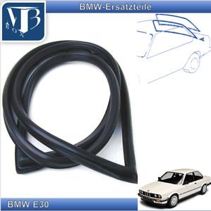 BMW E30 3er 315 316 318i 320i 323i Rear Window Seal Sealing Frame