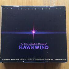 HAWKWIND entire and infinite word of  hawkwind (1999) 4 CD 'BIG' BOX SET + B'LET