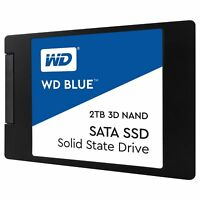 "WD Blue 3D NAND 2TB PC SSD - SATA III 6 Gb/s 2.5""/7mm Solid State Drive"