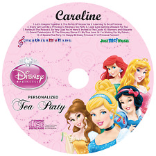 Personalized Disney Princess Tea Party Music CD - Digital Album Download Avail