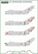 Model Maker Decals 1/48 Mikoyan MiG-17F/PF Around the World Asian Fresco Part I