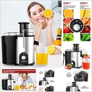 Poderoso Extractor D Jugos Para Vegetales y Frutas Exprimidor De jugo Naranja