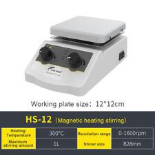 Lab Magnetic Stirrer Hot Plate Mixerknob Temperature Control1l110v180w